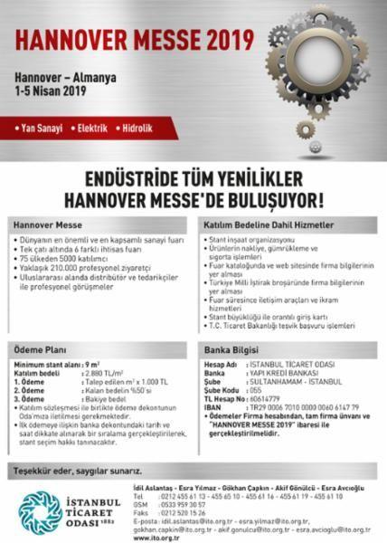 Endüstride tüm yenilikler Hannover Messe 2019 Fuarında