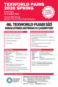 TEXWORLD PARIS 2020