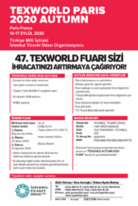 TEXWORLD PARIS 2020 AUTUMN