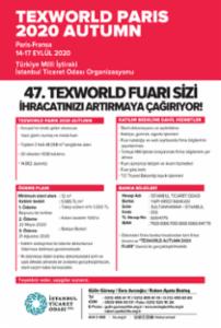 TEXWORLD PARIS 2020 AUTUMN